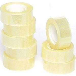 clear 2 tape rolls