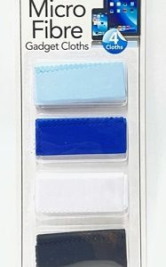 different colored wipes in a white strip.