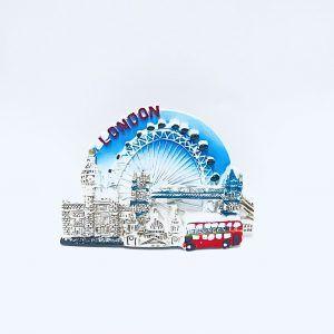 london eye soviner fridge magnet