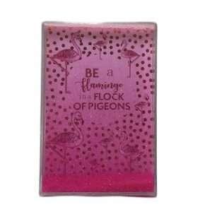 pink coloured glitter sheet
