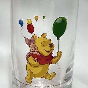 disney winne the pooh drinking glass