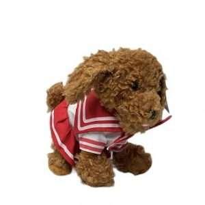 fluffy brown doll